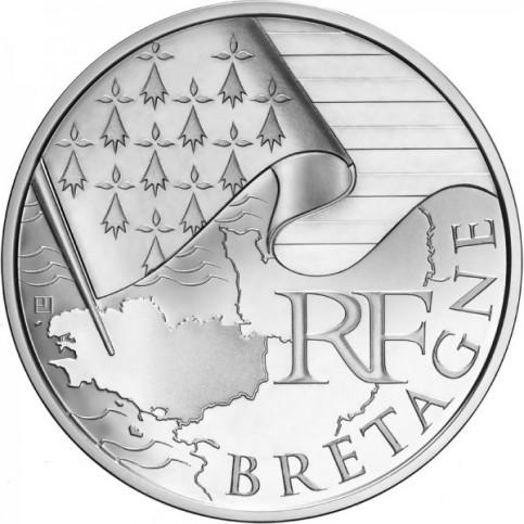 10 Euro des Régions 2010  - Bretagne