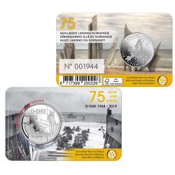 5 euro Belgique 2019 DDAY