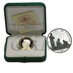 Vatican - 10 euro ARGENT