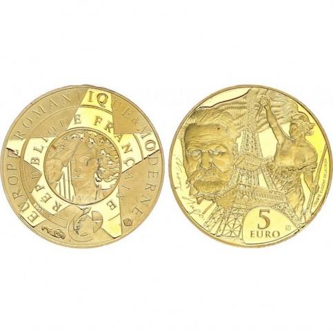 5 euros OR - France 2017