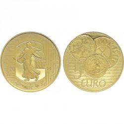 5 euros OR - France 2014
