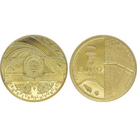 5 euros OR - France 2016