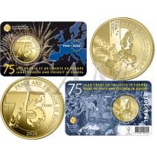 Belgique 2020 Coincard - 2.50 euros La paix
