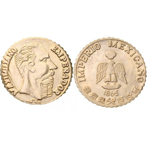 Maximilien 1er 1865 OR - peso