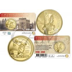 Belgique 2020 Coincard - 2.50 euros Jeux Olympiques