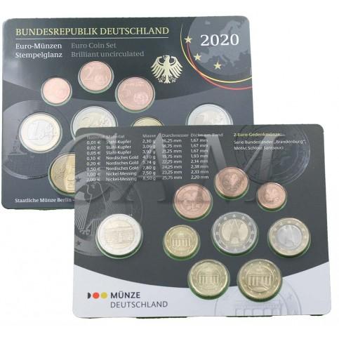 Allemagne 2020 - Coffrets euro BU