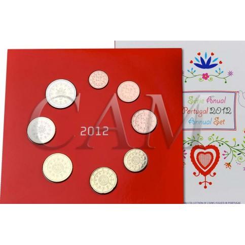 Portugal 2012 - Coffret euro BU