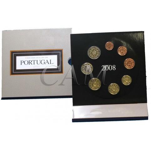 Portugal 2008 - Coffret euro BU