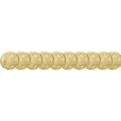 Lot x10 pièces - Saint Gaudens 1907 OR