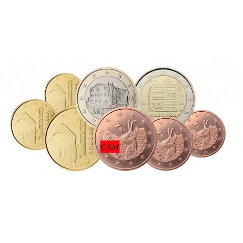 Série euros complète Andorre