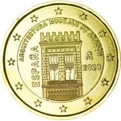 Espagne 2020 - 2 euro dorée à l'or fin 24 carats