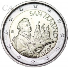 Saint Marin 2020 - 2 euro courante
