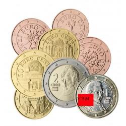 Autriche 2020 - série complète euro neuve
