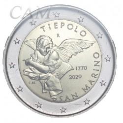 Saint Marin 2020 - 2 euro commémorative Tiepolo