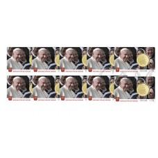 Lot de 10 coincard Vatican 2020