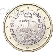 Saint Marin 1 euro 2020