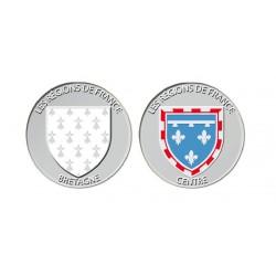 Lot de 2 pièces Régions de France 2013