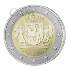 Lituanie 2020 - 2 euro commémorative Aukstaitija
