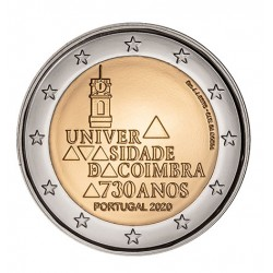 Portugal 2020 - 2 euro commémorative Coimbra