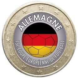 Football - 1 euro domé Allemagne