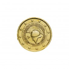 Grèce 2020 - 2 euro commémorative dorée à l'or fin 24 carats