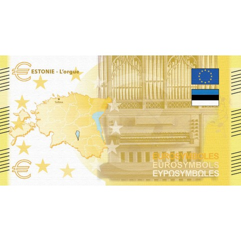 Estonie - Billet Thématique euro