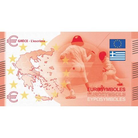 Grèce - Billet Thématique euro