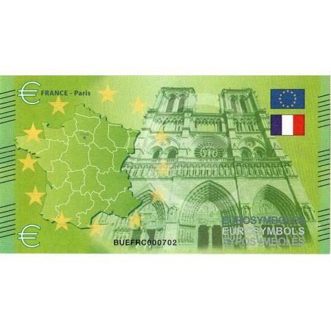 France - Billet Thématique euro