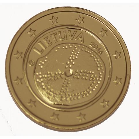 Lituanie 2016 - 2 euro commémorative Culture Baltique dorée