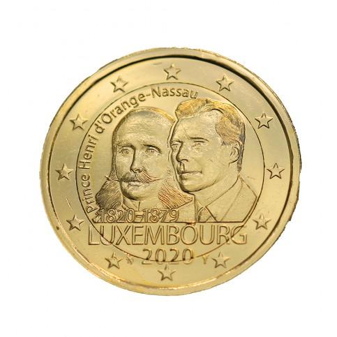 Luxembourg 2020 dorée à l'or fin 24 carats