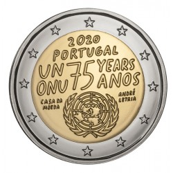 Portugal 2020 - 2 euro commémorative ONU