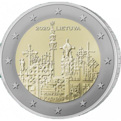 Lituanie 2020 - 2 euro commémorative Colline des Croix