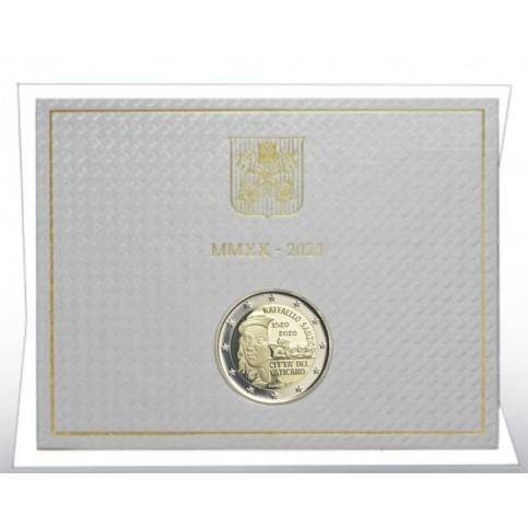 Vatican 2020- 2 euro commémorative Raffaello