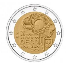 Slovaquie 2020 - 2 euro commémorative OECD