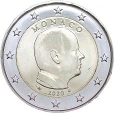 Monaco 2020 - 2 euro Albert