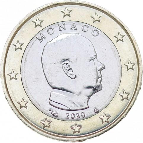 Monaco 2020 - 1 euro Albert