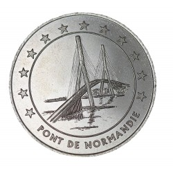 3 euros Précurseur - Pont de Normandie