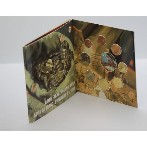 Belgique 2002 - Coffret euro BU