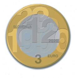 Slovénie 2020 - 3 euro commémorative Indépendance