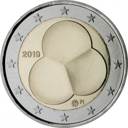 Finlande 2019 - 2 euro commémorative Constitution