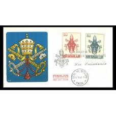 Vatican armoiries - enveloppe 1er jour