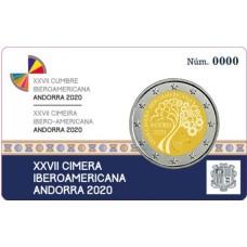Andorre 2020 - 2 euro commémorative Ibero-Américain BE