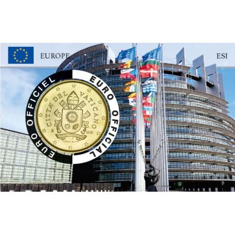 Vatican 2019 Coincard - Parlement