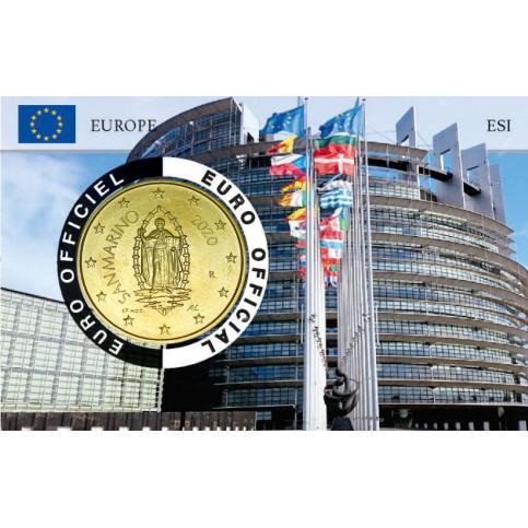 Saint Marin 2020 Coincard - Parlement