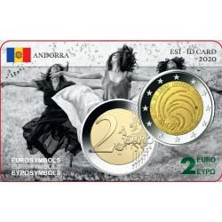 Andorre 2020 suffrage - Carte commémorative