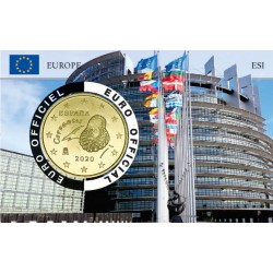 Espagne Coincard Europe - Parlement