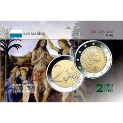 Saint Marin 2019 Léonard De Vinci - Carte commémorative