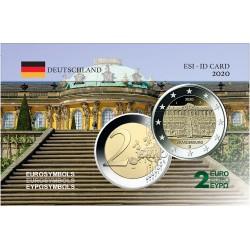 Allemagne  2020 Brandebourg - Carte commémorative