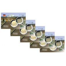 Lot x5  Allemagne  2020 - Carte commémorative