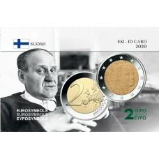 Finlande 2020- Carte commémorative